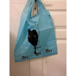 Sac de courses chat
