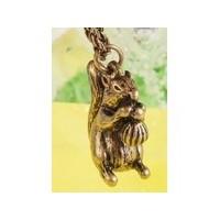 Collier pendentif ecureuil
